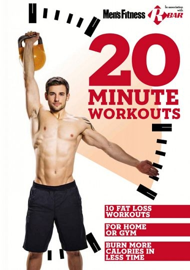 Men's Fitness UK – 20 Minute Workouts 2015