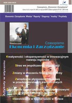 Ekonomia i zarządzanie. Nr 1/2013 - Fudali Aleksandra