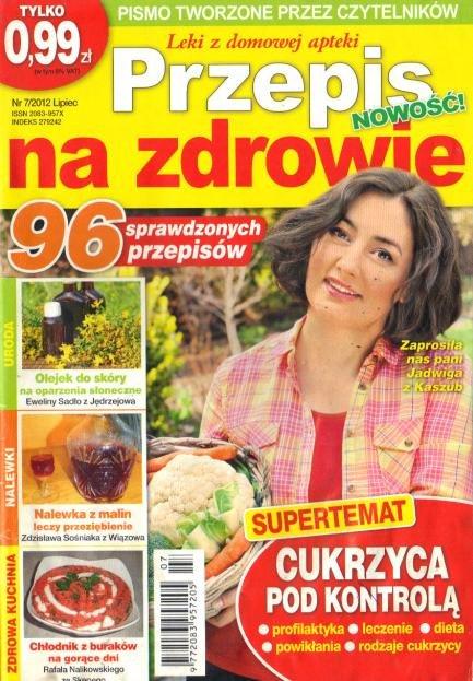 Przepis na zdrowie NR7/2012