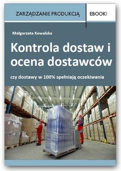 Kontrola dostaw i ocena dostawców - Kowalska Małgorzata
